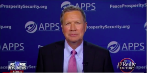 John Kasich at Americans for Peace Prosperity and Security