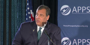 Chris Christie Americans for Peace Prosperity and Security
