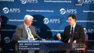 Marco Rubio Americans for Peace Prosperity and Security